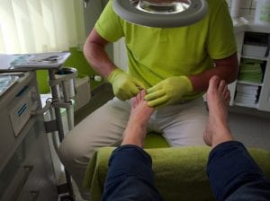 Podiatrist Hervey Bay general foot care callus
