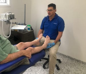 Podiatrist Hervey Bay Colin Power